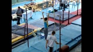 Спортивная гимнастика  Чемпионат Украины, Томащук И тренер Ягодин С  Черкассы