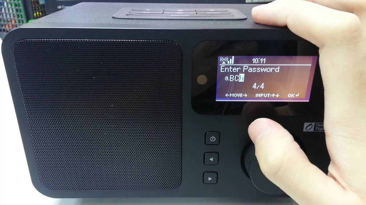 Ocean Digital - How to connect your internet radio to Wifi - YouTube