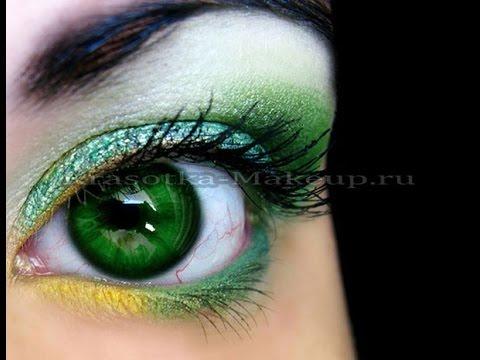 красивые фото зеленые глаза