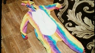 как красиво сложить пижаму кигуруми?