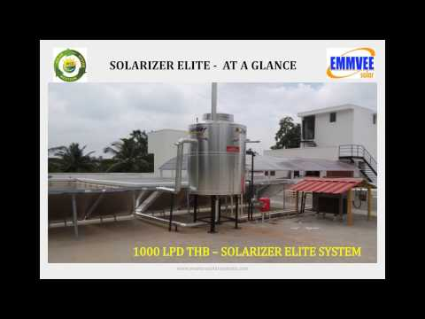 Hybrid Solar Water Heating System