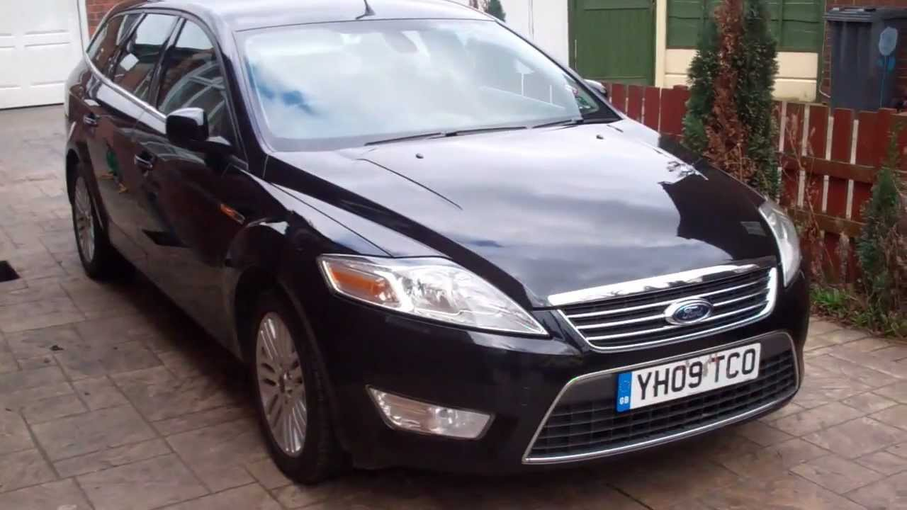 sold 2009 ford mondeo ghia estate 09 youtube. Black Bedroom Furniture Sets. Home Design Ideas