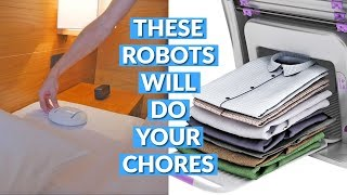 These Robots Will Do Your Chor…