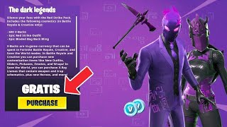 *SORTEO* PACK DARK LEGENDS FORTNITE READ DESCRIPTION