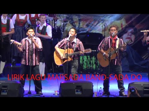 lirik lagu SADA DO-MARSADA