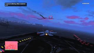 GTAV: Jet vs 747