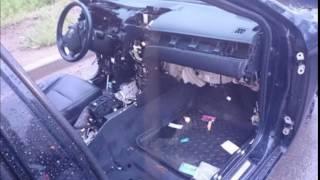 В Хабаровске разобрали машину, пока хозяйка смотрела кино