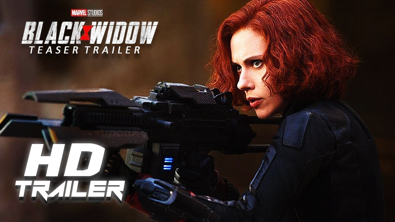 BLACK WIDOW (May 2020) - Movie Teaser Trailer Concept