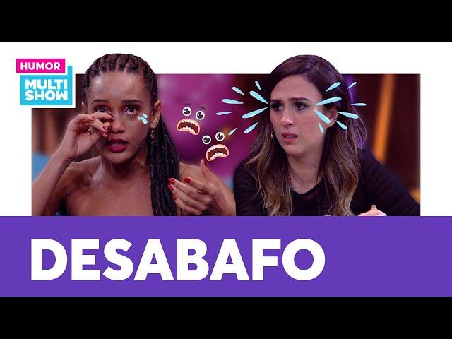 Taís Araújo e Tatá Werneck caem no CHORO ao falarem sobre maternidade   Lady Night   Humor Multishow