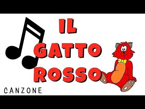 TEDESCO FACILE #116 -- CANZONE -- IL GATTO ROSSO