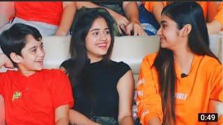 Anushka Sen Singing Ishq Farzi Song With Jannat Zubair Rahmani Thumb