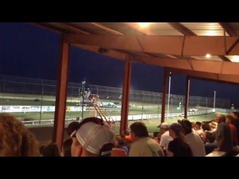 Chris Heim IMCA Mod Wakeeney Speedway Heat&Feature 9 5 15