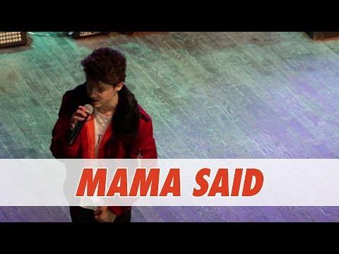 Hayden Summerall - Mama Said (Live in Dallas)