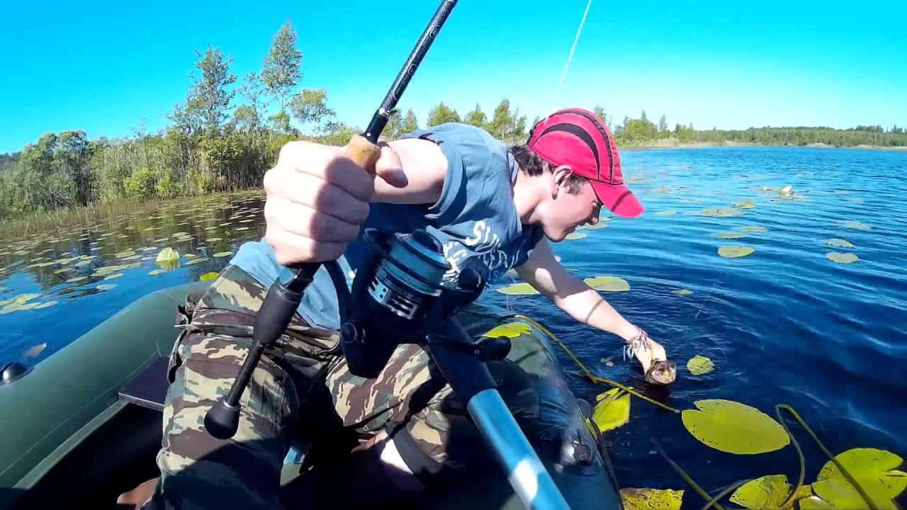 про дикую рыбалку