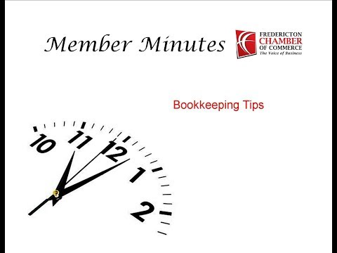 Member Minute – Bookkeeping Tips with Kelly Richard