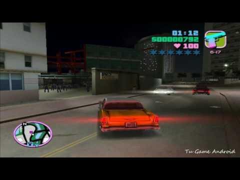 GTA VICE CITY - MISION #6 - Disturbios (HD)