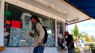 Dude trips out at Ice cream Deli!  Listen close!