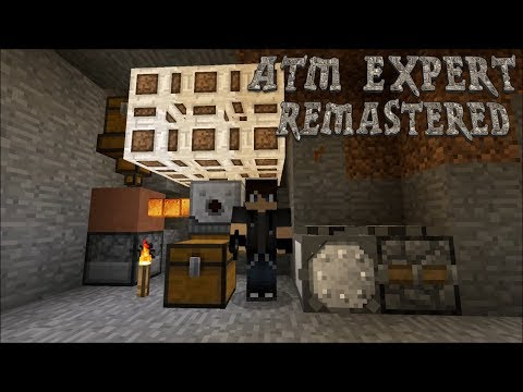 Minecraft All The Mods Expert Remastered Lp Ep #2: Ore Processing Beginnings