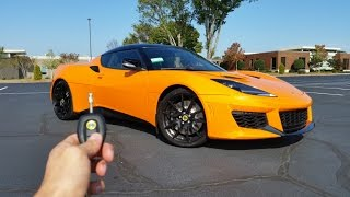 2017 Lotus Evora 400: Start Up, Exhaust, Test Drive and Review