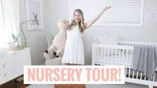 NURSERY TOUR | Pregnancy & Motherhood Series | Healthy Grocery Girl