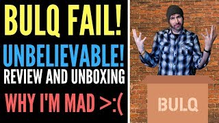 Bulq Review of Liquidation Pallet Box Lot. Why This Unboxing Made Me Mad!
