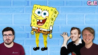 Theme Park Spongebob Has Muscular Legs - The Gus & Eddy & Jamie Podcast