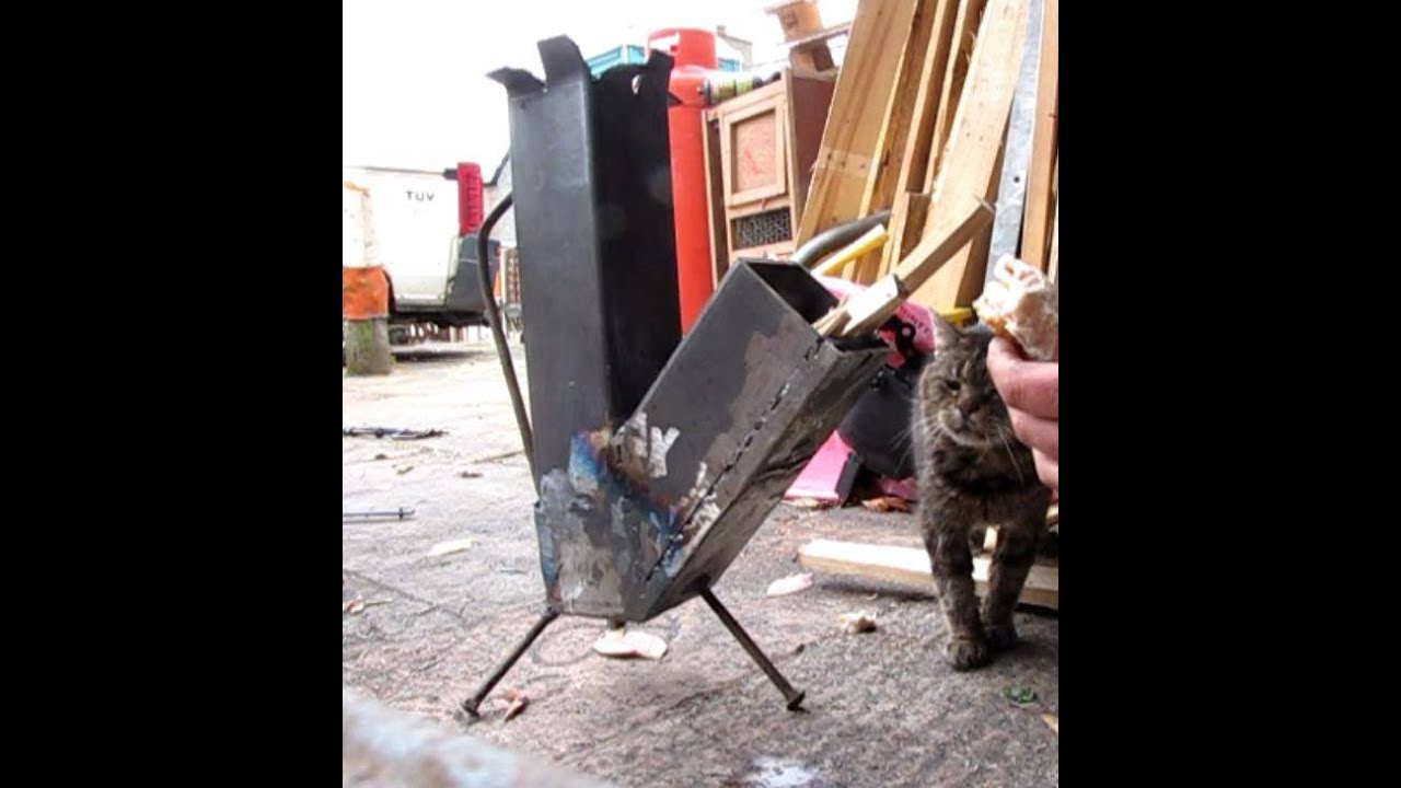 Make a rocket stove for under 10 easy diy welding project youtube solutioingenieria Image collections