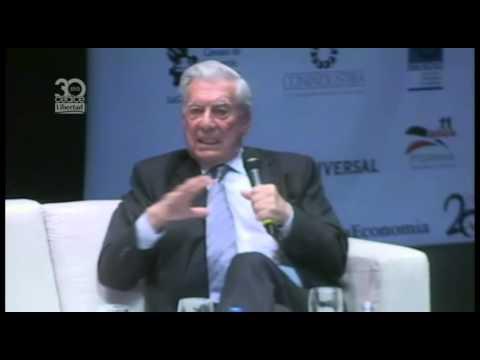 Mario Vargas LLosa, Marcel Granier, César Miguel Rondón en Primer Plano