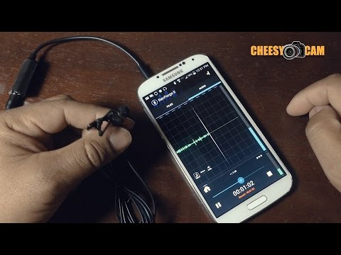 Using Android As Portable Audio Recorder Samsung Galaxy S4 + RECForgeII