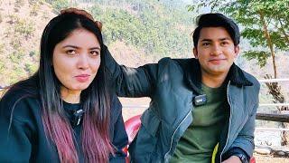 पूजाको शिरमा हात राखेर आकाशले खाए यस्तो कसम | Pooja Sharma & Aakash Shrestha | Intro Nepal Masti Gaf