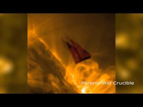 Kryptonic UFO Caught Near The Sun