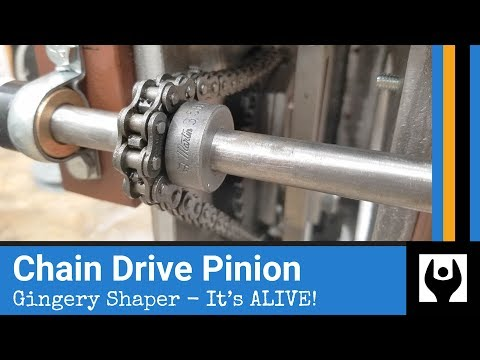 Repeat Drive chain slack adjustment by SAIT Millwright