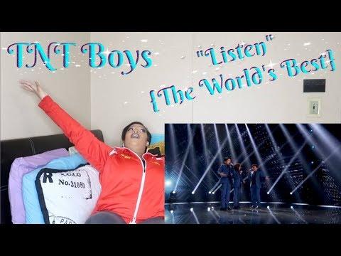 "TNT Boys-""Listen""{The World&39;s Best}Reaction*CRAZY HARMONY🔥😧*"