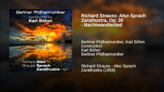 Richard Strauss: Also Sprach Zarathustra, Op. 30 - Nachtwandlerlied