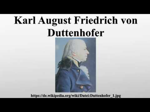 Karl August Friedrich von Duttenhofer