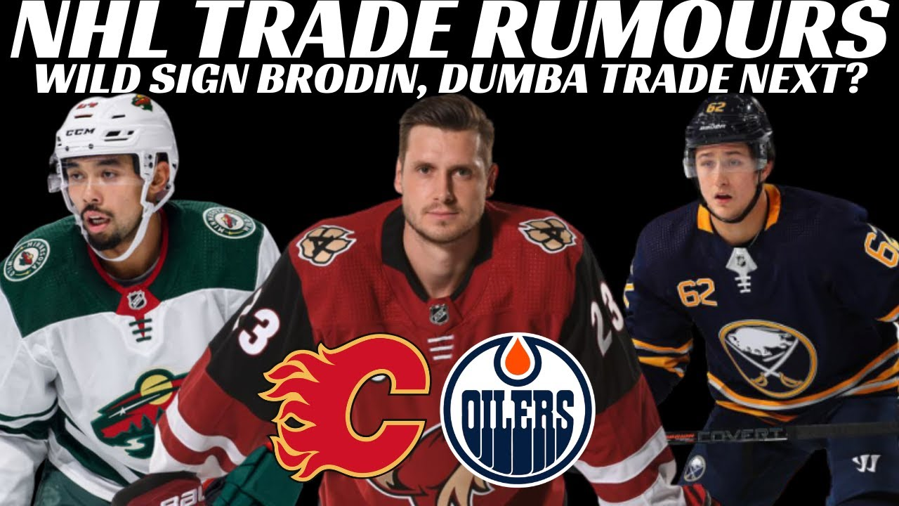 Download NHL Trade Rumours - OEL to Oilers or Flames, Sabres, Sens + Wild Sign Brodin & Caps hire Laviolette