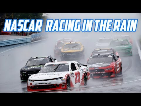 NASCAR's season is ending how it started: With rain