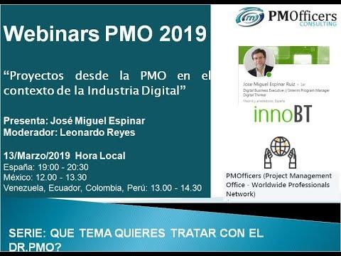 Proyectos desde la PMO en el contexto de la Industria Digital