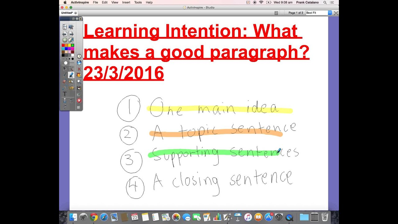 What makes a good paragraph? Primary School Literacy - YouTube