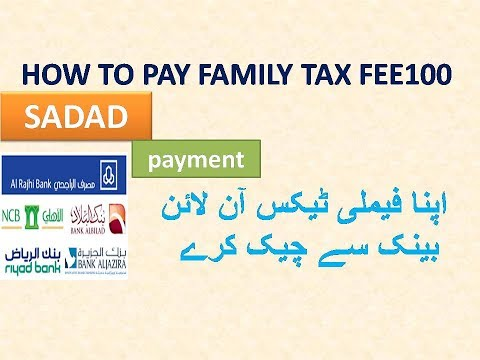 How to Pay and Calculate Family Tax of Expatriate in Saudi Arabia