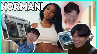 NORMAN  MOT VAT ON REACT ON Korean Guys React To Normani