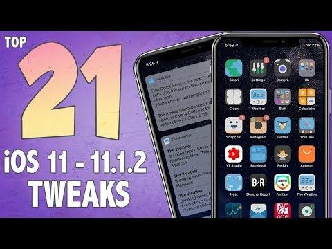 21 AMAZING iOS 11 Jailbreak Tweaks! | Best iOS 11 - 11.1.2 Cydia Jailbreak Tweaks #1