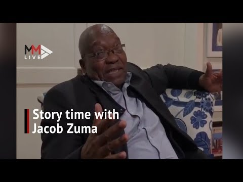 'Detained at Hercules Police Station': Story time with Jacob Zuma