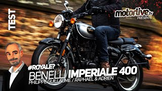BENELLI IMPERIALE 400 : L'APPATÉE IMPÉRIALE I TEST MOTORLIVE