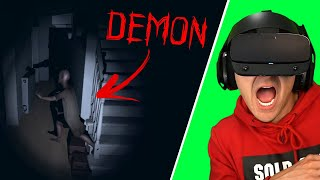 I lost a bet and had to play this scary game in VR... | Phasmophobia