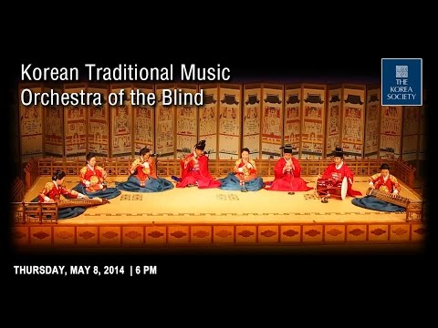 Korean Traditional Music Orchestra of the Blind