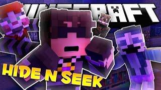 Minecraft FNAF Hide and Seek! RUN FROM FREDDY!! (FNAF Sister Location Minigame)