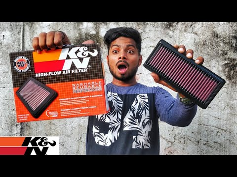 K&N Airfilter for Pulsar NS 200 | Performance Upgrade!!!!