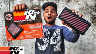 Kamp;N Airfilter for Pulsar NS 200  Performance Upgrade