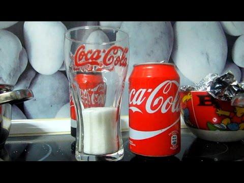 cuantas calorias contiene un vaso de coca cola